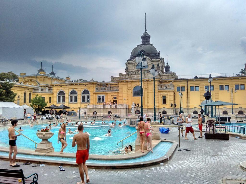 Budapest Széchenyi baths
